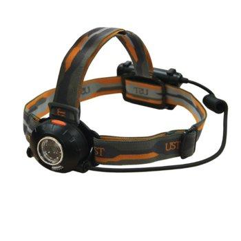 Фенер UST Brands Enspire, 3x AA, 230 lumens, удароустойчив, челен, черен image
