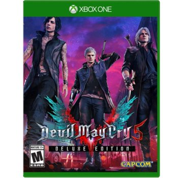 Игра за конзола Devil May Cry 5 - Deluxe Edition, за Xbox One image