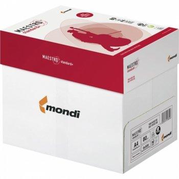Хартия Mondi Maestro Standart+ 10000228, A4, 80 g/m2, 500 листа, бяла image