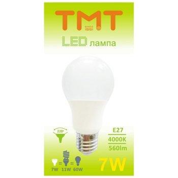 LED крушка Tmt, E27, 7W, 560 lm, 4000 k image