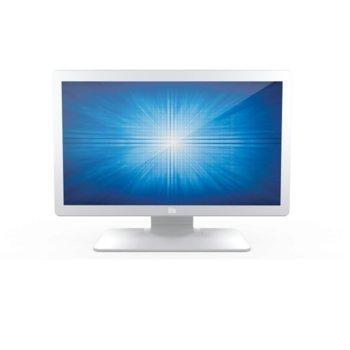 """Дисплей Elo ET2403LM-2UWA-0-WH-G, тъч дисплей, 23.8"""" (60.45 cm), Full HD, HDMI, VGA, USB image"""