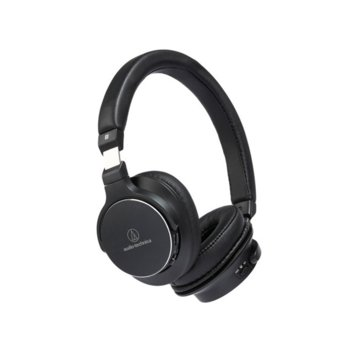 Слушалки Audio-Technica ATH-SR5BT, микрофон, безжични(Bluetooth 4.1)/NFC, High-Resolution аудио, до 38 часа време за работа, черни image