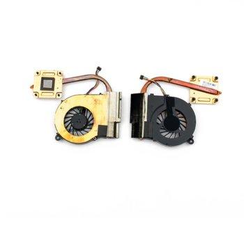 Вентилатор за лаптоп HP съвместим с CQ42, G42, CQ62, G62, CQ56, G56  image