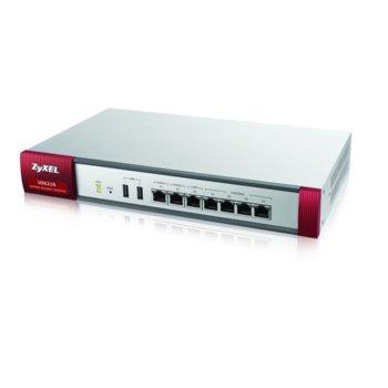 Защитна стена ZyXEL ZyWALL USG210, 200x (IPSec/50x SSL), 1900Mbps, 2x USB, 4x 10/100/1000 image