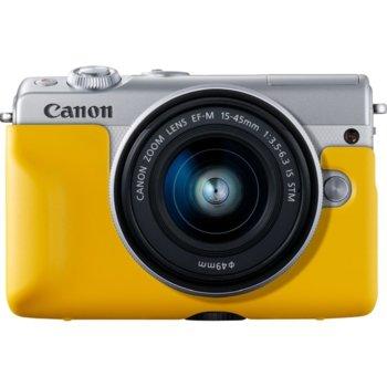 Протектор/калъф Canon EH31-FJ Face Jacket, за фотоапарат Canon EOS M100, жълт image