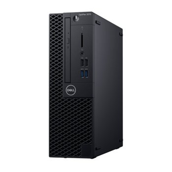 Настолен компютър Dell OptiPlex 3070 SFF (DTO3070SFFI54G1TW_WIN-14) шестядрен Coffee Lake Intel Core i5-9500 3.0/4.4 GHz, 4GB DDR4, 1TB HDD, 4x USB 3.1, клавиатура и мишка, Windows 10 Pro image