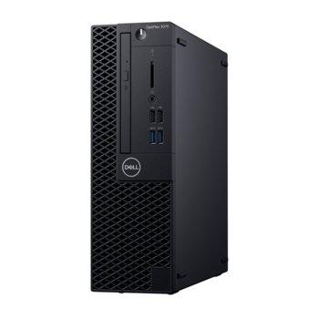 Настолен компютър Dell OptiPlex 3070 SFF (DTO3070SFFI54G1TW_WIN-14) шестядрен Coffee Lake Intel Core i5-9500 3.0/4.4 GHz, 4GB DDR4, 1TB HDD, 4x USB 3.1, клавиатура и мишка, Windows 10 Pro image