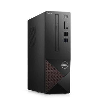Настолен компютър Dell Vostro 3681 SFF (N217VD3681EMEA01_2101_UBU-14), осемядрен Comet Lake Intel Core i7-10700 2.9/4.8 GHz, 8GB DDR4, 1TB HDD, 4x USB 3.2 Gen 1 Type-A, Linux image