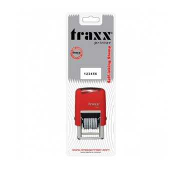 Автоматичен номератор Traxx 7836, 6 цифри, височина на шрифта 3.0 mm image