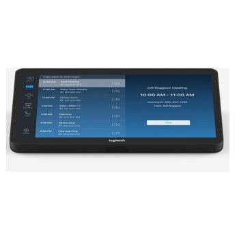 "Конферентен дисплей Logitech Tap Conference Solution Zoom, 10.1"" (25.65 cm), 1280 x 800, USB 2.0/3.0/3.1 Type C, HDMI image"