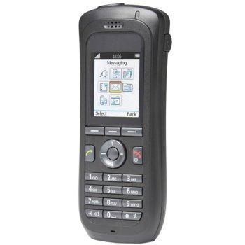 """Безжичен телефон Unify OpenStage WL3 WLAN Handset, безжичен, функция """"свободни ръце"""", 10 програмируеми бутона, черен image"""
