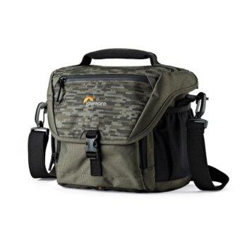 Чанта за фотоапарат Lowepro Nova 170 AW II Pixel Camo, за DSLR фотоапарати и обективи, полиестер, камулаж image