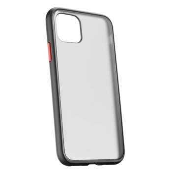 Kалъф за iPhone 11 Pro Max, Cellular Line, Smokey Quartz, полупрозрачен гръб image