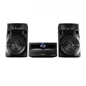 Аудио система Panasonic SC-UX100E-K, 2.1 RMS(300W), USB, Bluetooth, CD, CD-R/-RW, MP3, черна image