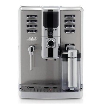 Автоматична еспресо машина GAGGIA Accademia, 1500 W, 15 bar, цветен TFT дисплей, Intenza+ воден филтър, сребриста image