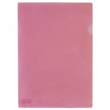 Джоб Office Point, L-oбразен, за документи с формат до А4, червен, продава се в опаковка от 100бр. image
