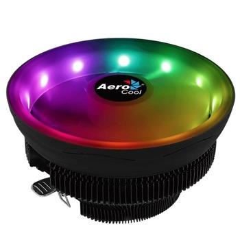 Охлаждане за процесор Aerocool Core Plus, съвместимост със сокети Intel LGA 115X/775 & AMD AM4/AM3+/AM3/AM2+/AM2/FM2/FM1 image