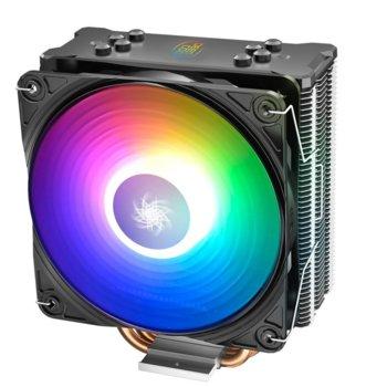Охлаждане за процесор DeepCool GAMMAXX GT A-RGB, съвместимост със Intel LGA2066/2011-v3/2011/1151/1150/1155/1366 & AMD AM4/AM3+/AM3/AM2+/AM2/FM2+/FM2/FM1 image