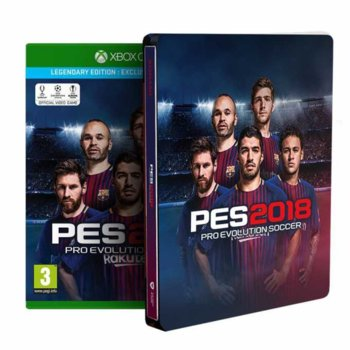 Игра за конзола Pro Evolution Soccer 2018 Legendary Edition, за Xbox One image