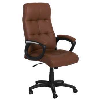 Директорски стол Carmen 6504, кафяв image