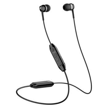 Слушалки Sennheiser CX 350BT, безжични(Bluetooth 5.0), микрофон, 10 часа време за работа, контрол на звука, Ѕmаrt Соntrоl, черни image