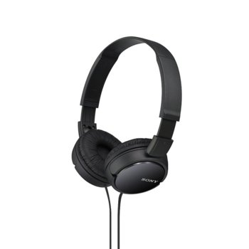 Слушалки Sony MDR-ZX110, черни image