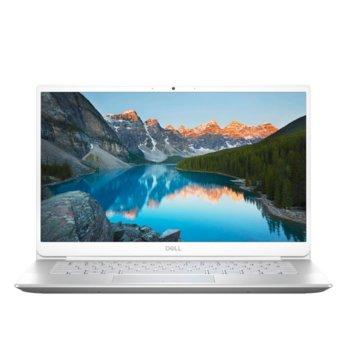 "Лаптоп Dell Inspiron 5490 (5397184373187)(сребрист), четириядрен Comet Lake Intel Core i7-10510U 1.8/4.9 GHz, 14.0"" (35.56 cm) Full HD Anti-Glare Display & GeForce MX230 2GB, (HDMI), 8GB DDR4, 512GB SSD, 1x USB 3.1 Type-C, Linux image"
