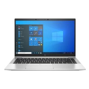 "Лаптоп HP EliteBook 840 G8 (336D4EA#AKS)(сребрист), четириядрен Tiger Lake Intel Core i7-1165G7 2.8/4.7 GHz, 14"" (35.56 cm) Full HD IPS Anti-Glare Display, (HDMI), 16GB DDR4, 512GB NVME SSD, Windows 10 Pro, 1.32kg image"