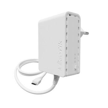 Powerline адаптер Mikrotik PL7400, 100Mbps, USB, 1 устройство image