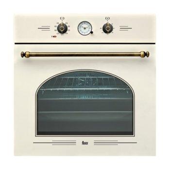 Фурна за вграждане Teka HR 650, 65л. обем, 9 програми, ретро дизайн, охлаждаща система с вентилатор и сместителна камера, енергиен клас А, бял крем image