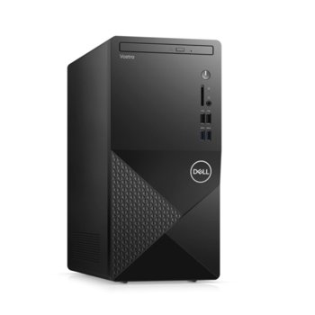 Настолен компютър Dell Vostro 3888 MT (N603VD3888EMEA01_2101_UBU_M), шестядрен Comet Lake Intel Core i5-10400 2.9/4.3 GHz, 4GB DDR4, 1TB HDD, 4x USB 3.1, клавиатура и мишка, Linux image