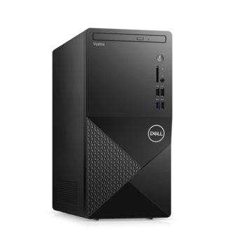 Настолен компютър Dell Vostro 3888 MT (N603VD3888EMEA01_2101_UBU_M), шестядрен Comet Lake Intel Core i5-10400 2.9/4.3 GHz, 4GB DDR4, 1TB HDD, 4x USB 3.1, клавиатура и мишка, Linux image