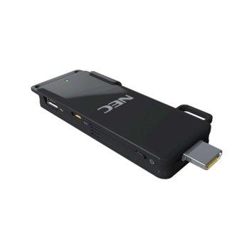 Мултипрезентер NEC MP10RX2 за безжично свързване на проектори, (до 16 устройства), plug & play, черен image