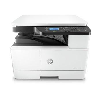 Мултифункционално лазерно устройство HP LaserJet MFP M442dn, монохромен, принтер/копир/скенер, 1200 x 1200 dpi, 24 стр/мин, RJ-45, USB, A3 image