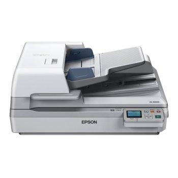 Скенер Epson WorkForce DS-60000N, 600x600dpi, A3, двустранно сканиране, ADF, USB, Lan image