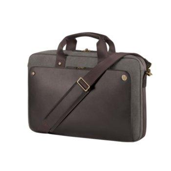 "Чанта за лаптоп HP Executive Brown Top Load, до 15.6"" (39.62 cm), кафява image"