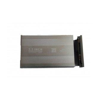 """Кутия 3.5""""(8.89cm), USB 2.0 to SATA, алуминий image"""