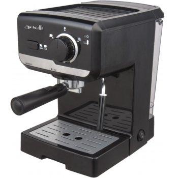 Еспресо кафе машина Аrielli KM-469BS, 1050W, 15 bar-a, черна image