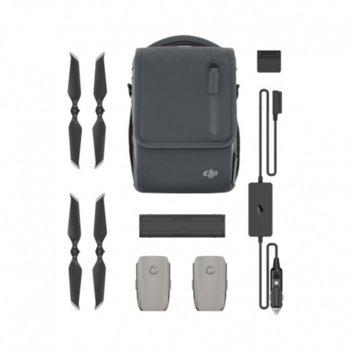 Комплект аксесоари за дрон Mavic 2 Pro/Zoom, батерии, зарядно за кола, хъб за зареждане, адaптep зa зapeждaнe, бeзшyмни пpoпeлepи, чaнтa зa paмo image