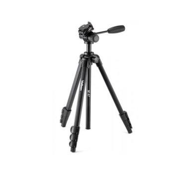 Трипод Velbon M-47, мин/макс. височина 47.2-155.1см, 2кг товароносимост, алуминиев, черен image