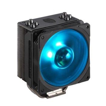 Охлаждане за процесор Cooler Master Hyper 212 RGB Black Edition, съвместимост със сокети LGA 2066/2011-v3 /2011/1151/1150/1155/1156/1366 & AMD AM4/AM3+/AM3/AM2+/AM2/FM2+/FM2/FM1 image