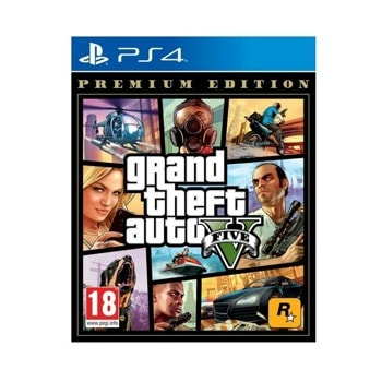 Игра за конзола Grand Theft Auto V - Premium Online Edition, за PS4 image
