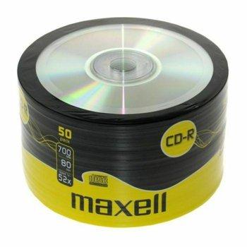 Оптичен носител CD-R80 700MB Maxell, 50 бр. image