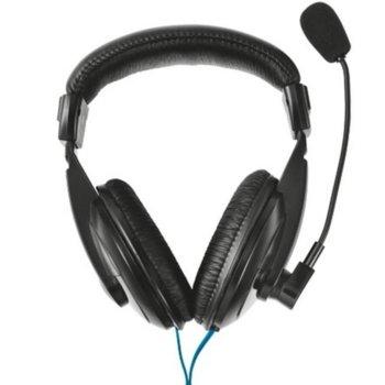 Слушалки Trust Quasar, микрофон, 30Hz - 16kHz честотен диапазон, 1.8 м кабел, черни image