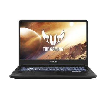"Лаптоп Asus TUF FX505DT-HN535 (90NR02D2-M12450), четириядрен Zen 2 AMD Ryzen 7 3750H 2.3/4GHz, 15.6"" (39.62 cm) Full HD IPS 144Hz Anti-Glare Display & GTX 1650 4GB, (HDMI), 8GB DDR4, 256GB SSD, 1TB HDD, 2x USB 3.1 Type A, Free DOS, 2.2 kg image"