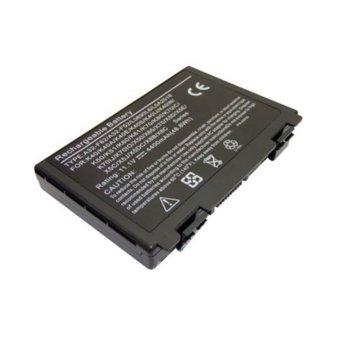 Батерия (заместител) за ASUS F52, съвместима с F82/K40/K50/K51/K60/K70/X5/X70/X8, 6cell, 11.1V, 4400mAh image