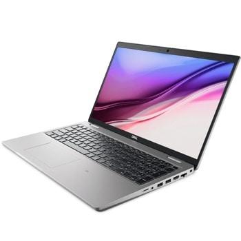 "Лаптоп Dell Latitude 5521 (NBL5521I71185016G512G_UBU-14)(сив), осемядрен Tiger Lake Intel Core i7-11850H 2.5/4.8 GHz, 15.6"" (39.62 cm) Full HD Anti-Glare Display, (HDMI), 16GB DDR4, 512GB SSD, 2x Thunderbolt 4, Linux image"