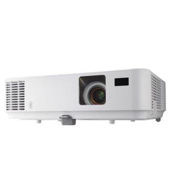 Проектор NEC V302W, DLP, 3D ready, HD (1920 x 1080), 10 000:1, 3000 ANSI lm, HDMI, D-sub, mini USB, RJ-45 image