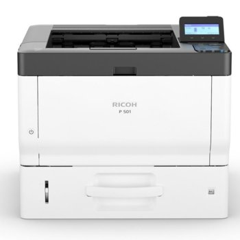 Лазерен принтер Ricoh P501 RICOH-LJ-P501, монохромен, 1200 x 1200 dpi, 43 стр/мин, LAN1000, USB 2.0, А4 image