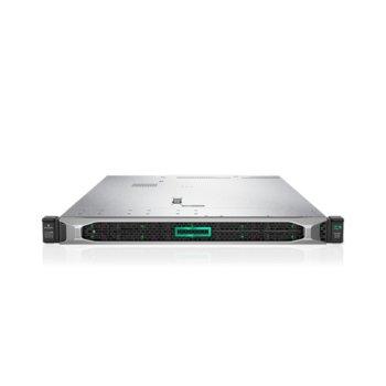 Сървър HPE DL360 G10 (PERFDL360-013), десетядрен Cascade Lake Intel Xeon-Silver 4210R 2.4/3.2 GHz, 16GB DDR4 RDIMM, без твърд диск, 4x 1Gb, 5x USB 3.0, No OS, 2x 500W PSU image
